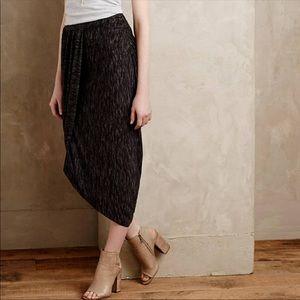 Anthropologie Saturday Sunday Nona draped skirt XS